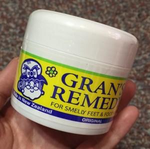 足の臭い 粉 グランズ レメディ